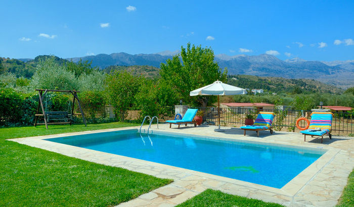 Swimming Pool, Villa Aphrodite, Crete