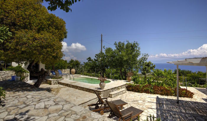Patio, Bacchus House, Antipaxos