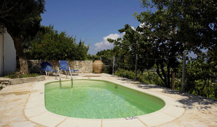 Pool, Bacchus House, Antipaxos
