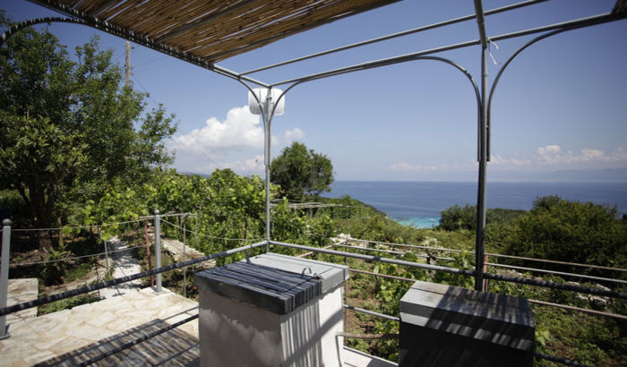 View from Bacchus House, Antipaxos