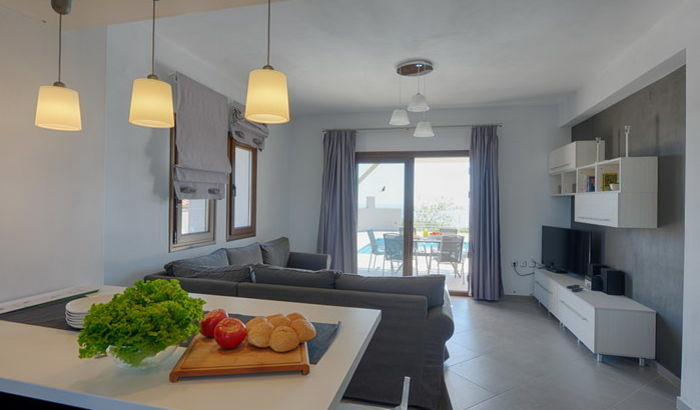 Living Area, Villa Eos, Alonissos