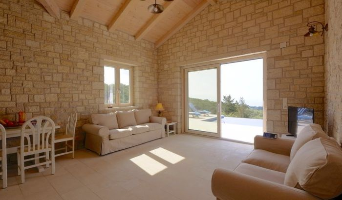 Living room, Erimitis View, Paxos