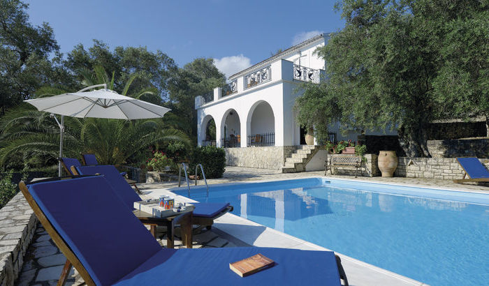 Swimming Pool, Villa Andromeda, Paxos
