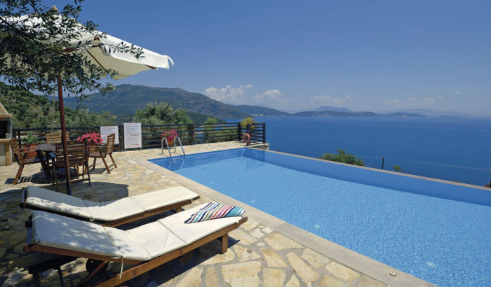 View from Villa Yesemi, Lefkas