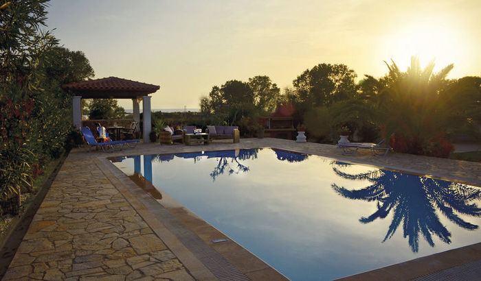 Swimming Pool, Villa Halikounas, Corfu