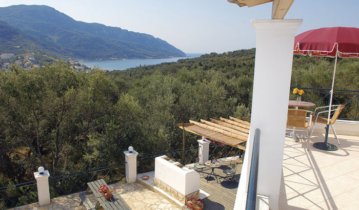 View from Hellyhunter Villa, Corfu