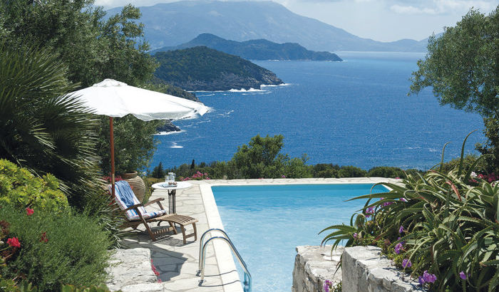 View from Sunset House, Kefalonia