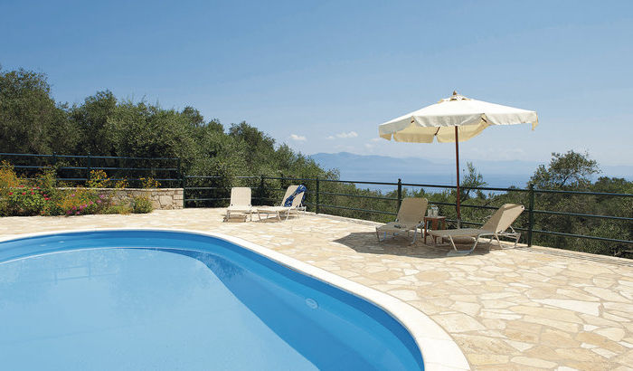 Swimming Pool, Villa Elia, Paxos