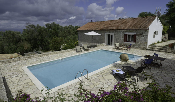 Swimming Pool, Villa Perseus, Paxos