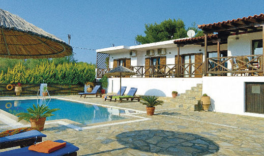 Outside Area, Villa Pefka, Skiathos