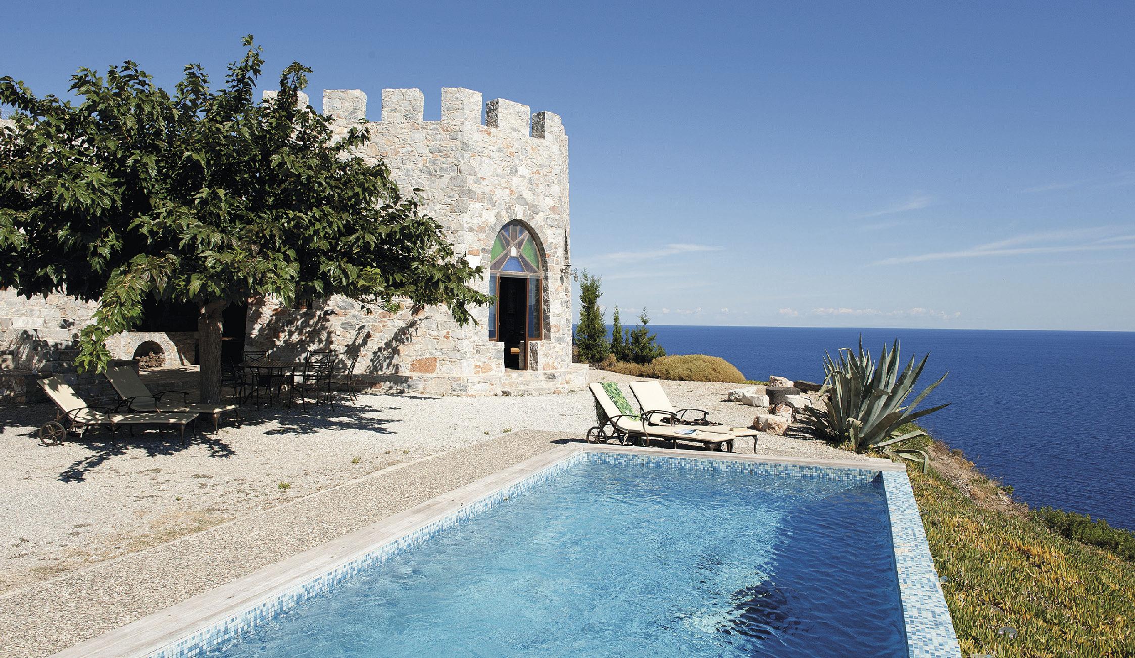 Villa Pyrgos Properties In Skopelos Gic The Villa