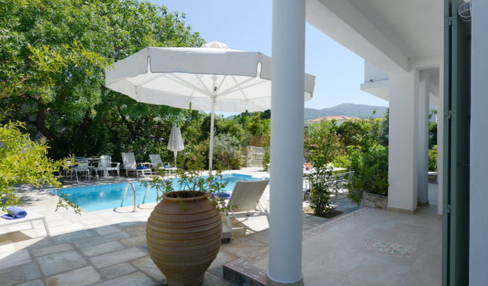 Swimming Pool, Villa Joanna, Skopelos Town
