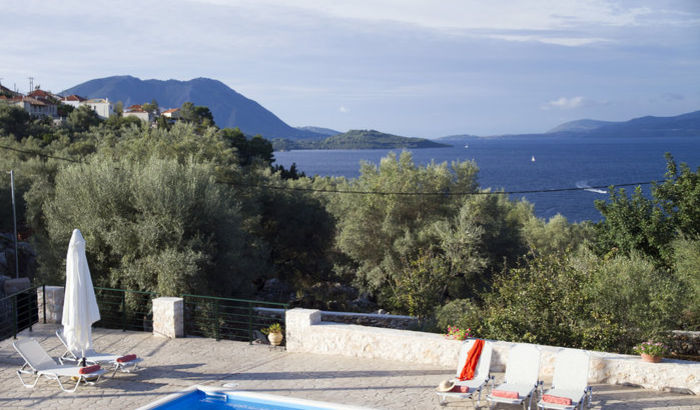 View from Villa Kalisti, Meganissi