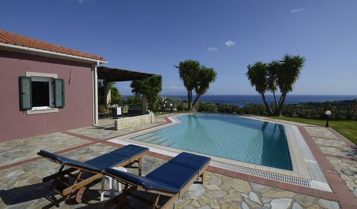 Swimming Pool/Outside, Trapezaki Villas, Kefalonia