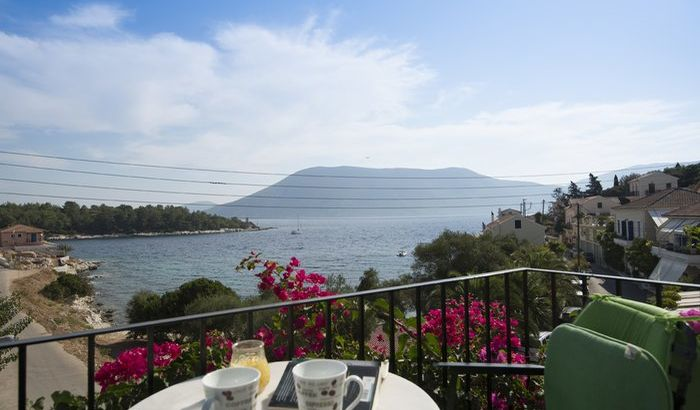 View from Vassilis Apartment, Kefalonia