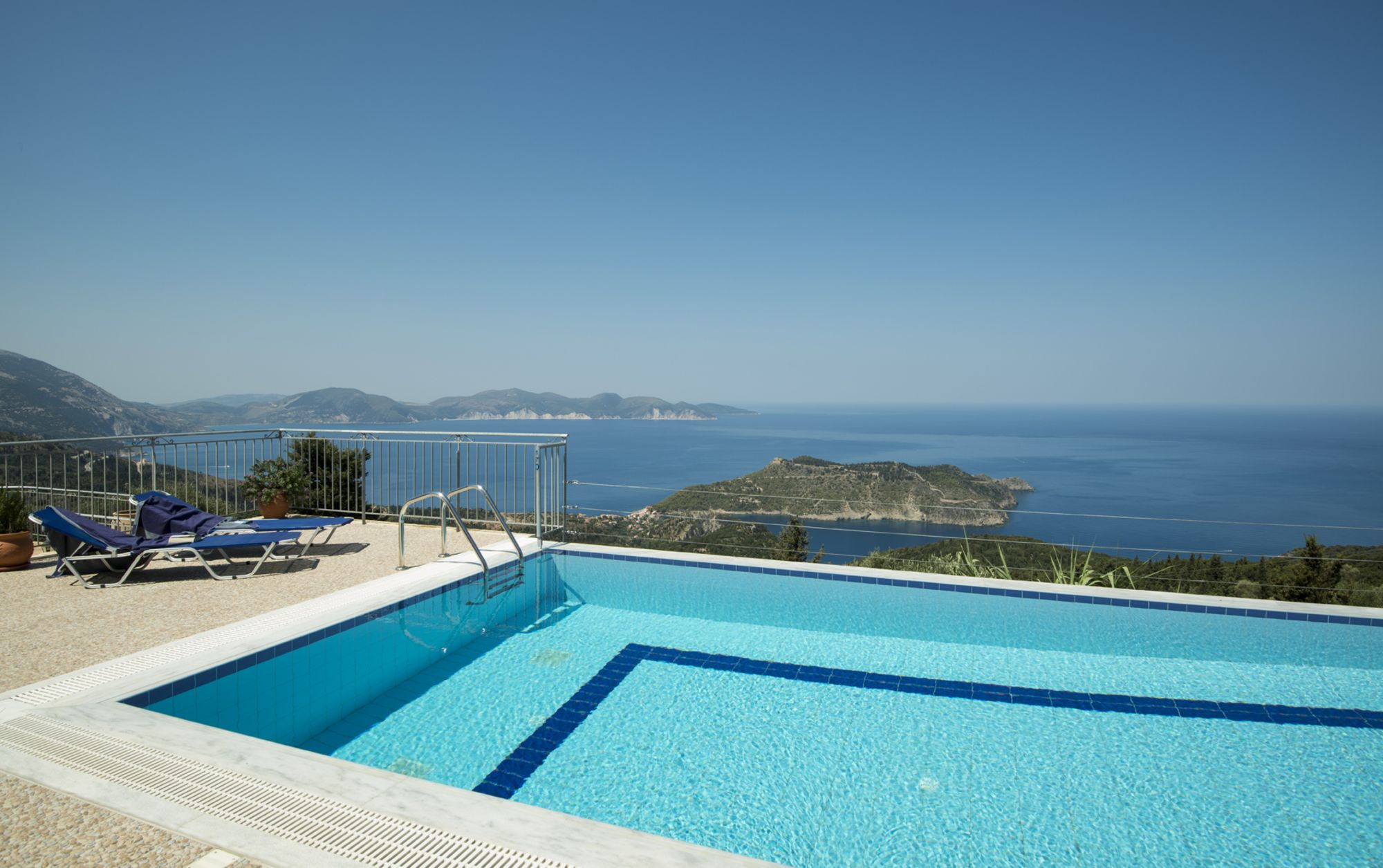 Villa Kamini Properties In Kefalonia Gic The Villa