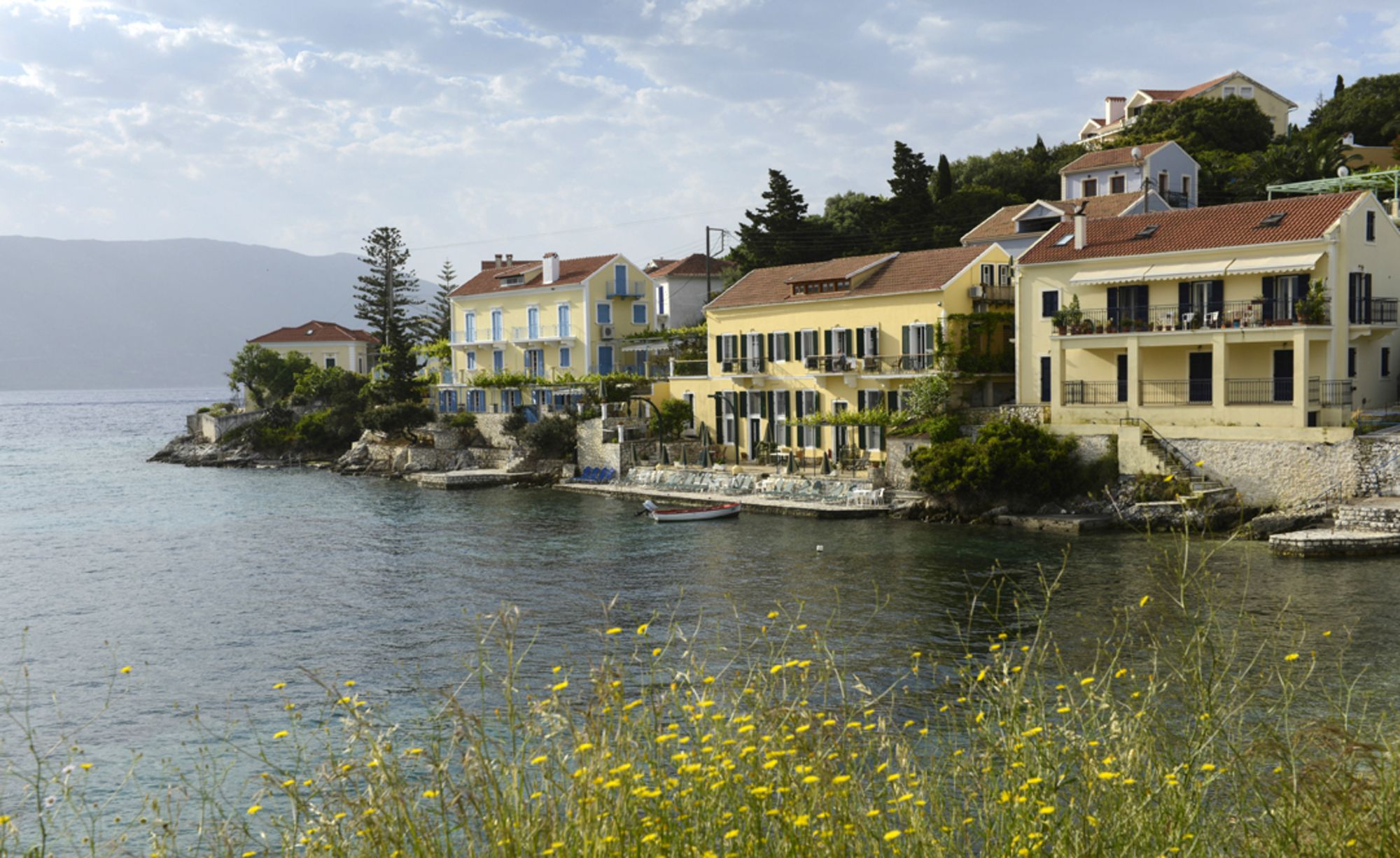 Waterfront Apartments Properties In Kefalonia Gic The