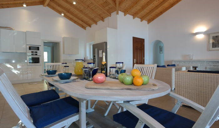 Dining area, Villa Gregory, Corfu