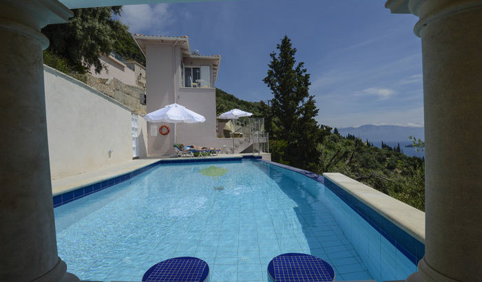 Swimming Pool, Villa Kyparissi, Lefkas