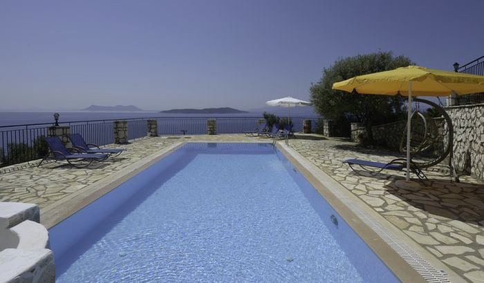 Swimming Pool, Villa Constantina, Lefkas