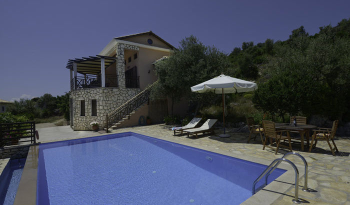 Swimming Pool, Villa Yesemi, Lefkas