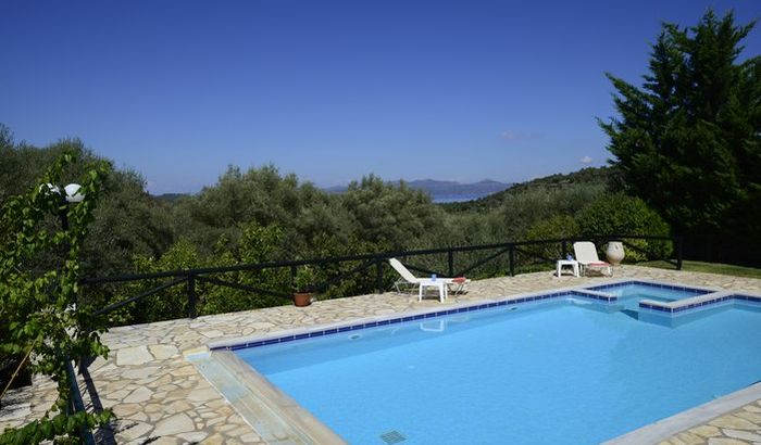 Swimming Pool, Villa Eleni, Meganissi