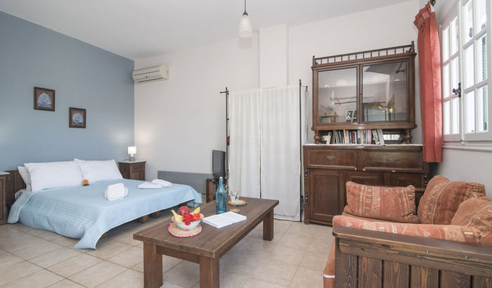 Twin Bedroom, Annexe, Villa Nondas