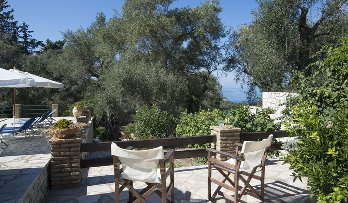 Outside Sitting Area, Govenors House, Paxos