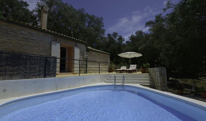 Swimming Pool, The Olive Press, Paxos