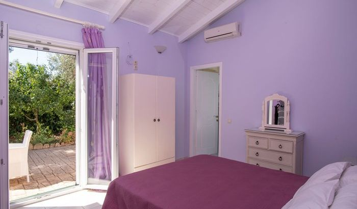 Second bedroom, Villa Persephoni, Corfu