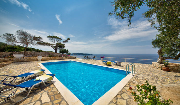 Swimming pool, Poseidon's Nest, Gaios, Paxos