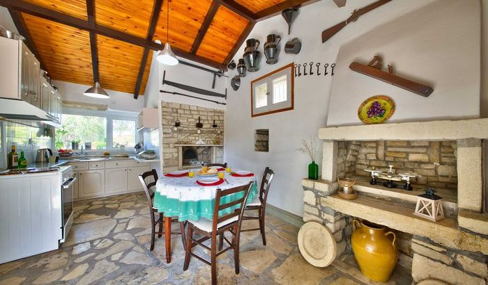Kitchen, Villa Bonas, Paxos