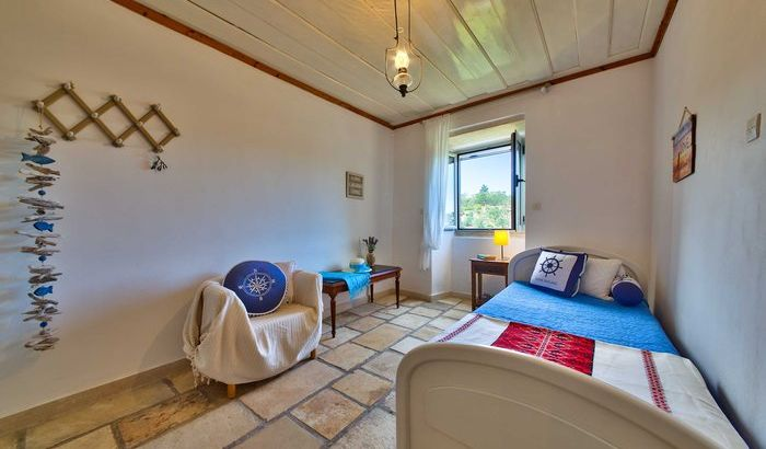 Single Bedroom, Villa Bonas, Paxos