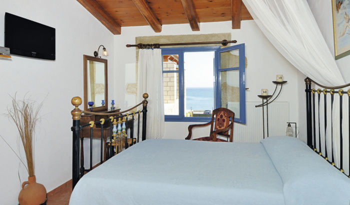 Double bedroom, Villa Anastasia, Crete