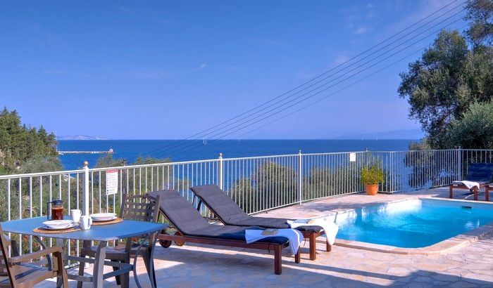 Swimming Pool, Levrecchio Beach House, Paxos