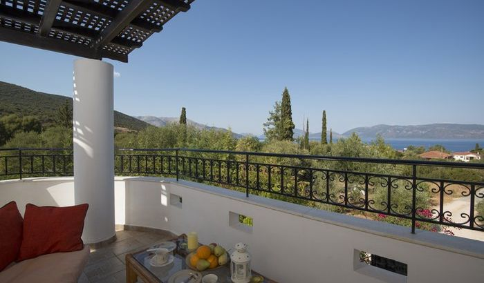 Outside, View, Villa Melissani, Kefalonia