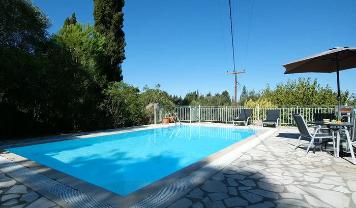 Swimming pool, Villa Pascalia, Corfu
