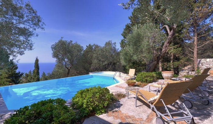 Swimming Pool, Villa Petra, Paxos
