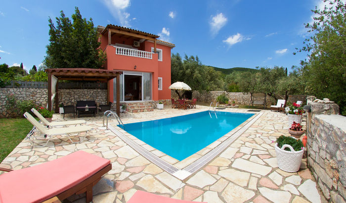 Swimming Pool, Villa Poseidon, Kefalonia