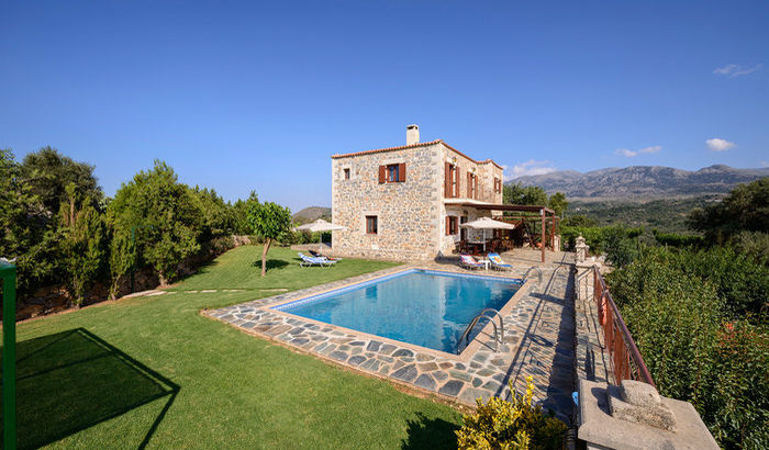 View of Villa Maris, Crete