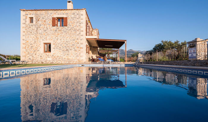 Pool, Villa Maris, Crete