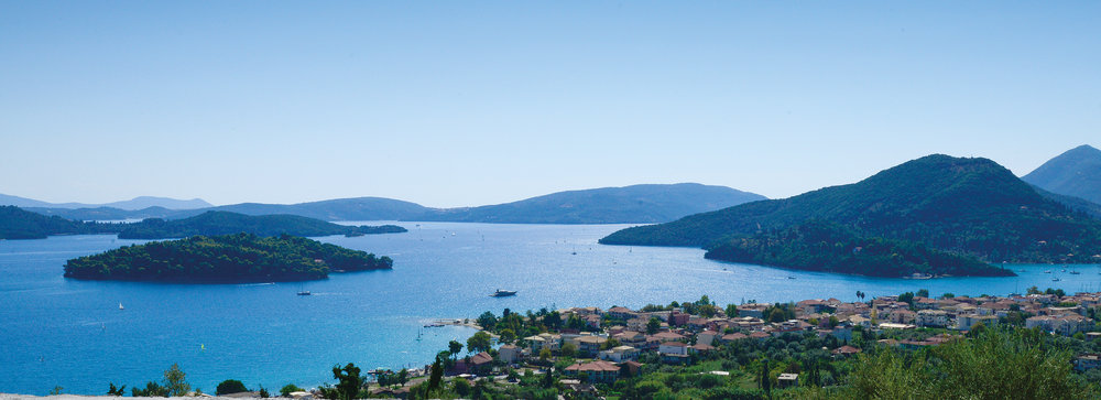 Choose a panoramic villa on Lefkas for your Greek island holiday