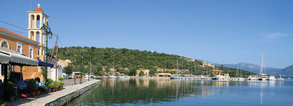 Stylish villas on Meganissi, a small and tranquil jewel in the Ionian